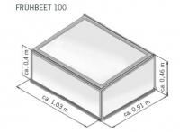 Frühbeet Anthia 100